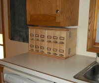Small kitchen storage cabinet Photo - 5   Kitchen ideas