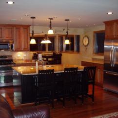 4 Stool Kitchen Island Industrial Looking Ideas