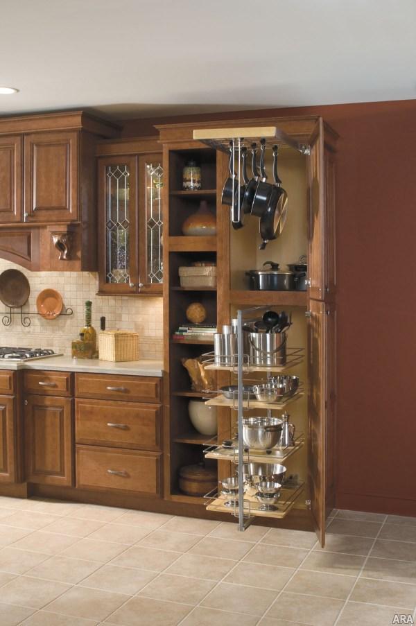 Kitchen Cabinet Pots Pans Storage Ideas