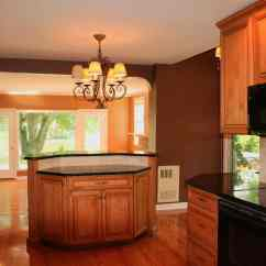Two Tier Kitchen Island Basic Cabinets Photo 10 Ideas