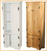 White kitchen storage cabinets with doors | | Kitchen ideas