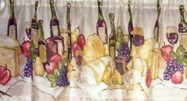 Wine Themed Kitchen Wine Themed Kitchen Curtains Design And Ideas