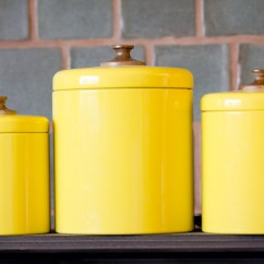 Yellow Kitchen Rugs Mandolin Slicer Canisters | Ideas