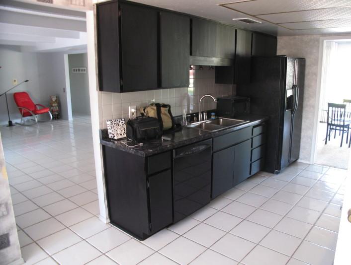 Black Appliances In Kitchen Kitchen Ideas
