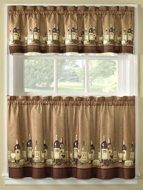 unusual kitchen curtains