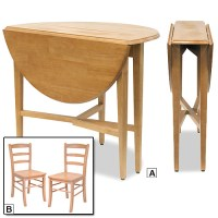Fold up kitchen table