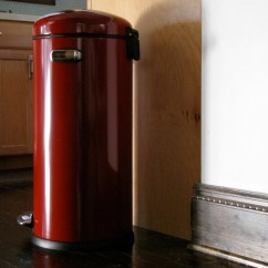Tall Kitchen Trash Cans Thermador Red Can | Ideas