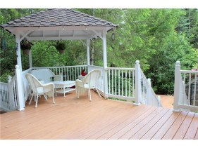 1000+ square feet of new composite deck