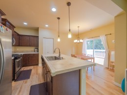 Kitchen with large Island at 4498 NW Atwater Lp