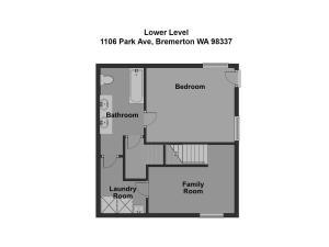 1106 Park Ave Bremerton WA-Lower Level