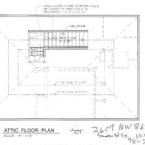 Attic Access Plans