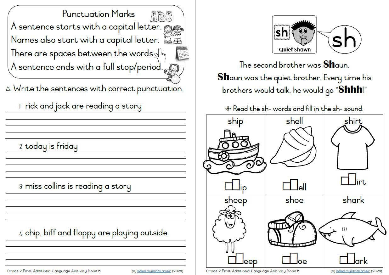 hight resolution of Grade 2 English First Additional Language Term 2 Activity Book 4-6 » My  Klaskamer deur Kobie Kleynhans