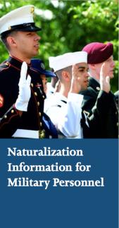 Military Naturalization (MAVNI naturalization) information