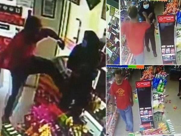 Lelaki tak pakai pelitup muka serang pelanggan, pekerja kedai serbaneka