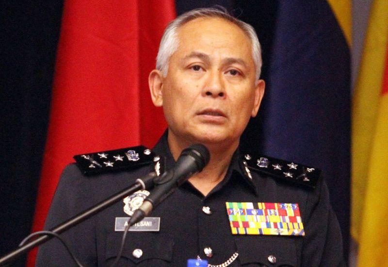Ketua Polis Negara Datuk Seri Acryl Sani Abdullah Sani