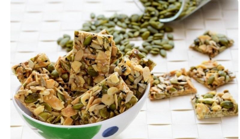 Resepi Biskut Crunchy Caramel Almond (Florentine)