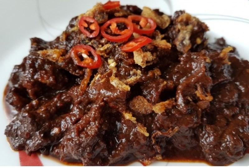 Resepi Daging Masak Hitam Sempoi