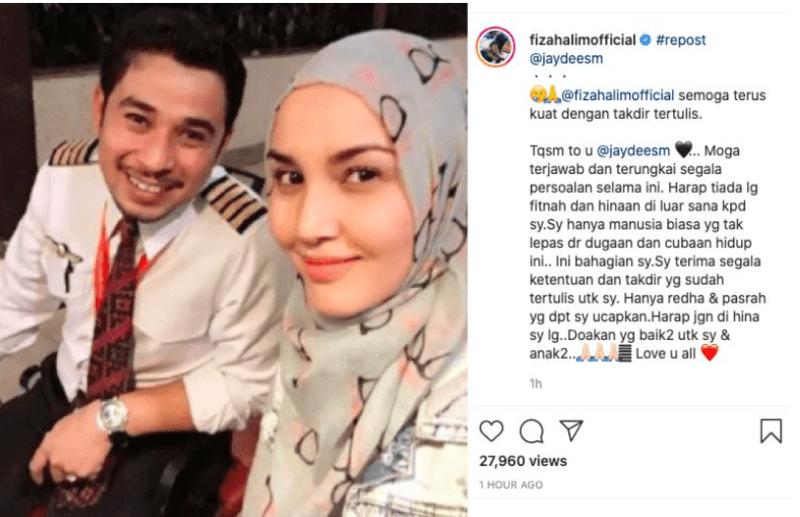 3 Kali Gagal Dalam Perkahwinan, Fiza Halim Diceraikan Melalui WhatsApp