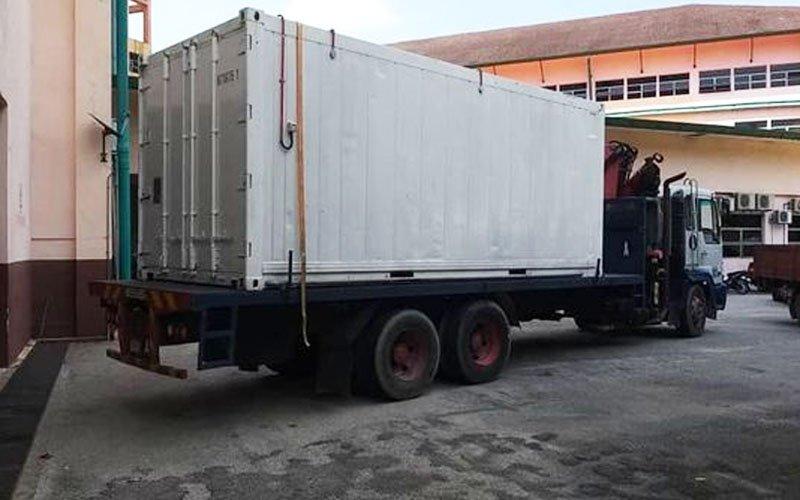 Hospital Selayang terpaksa sedia kontena khas