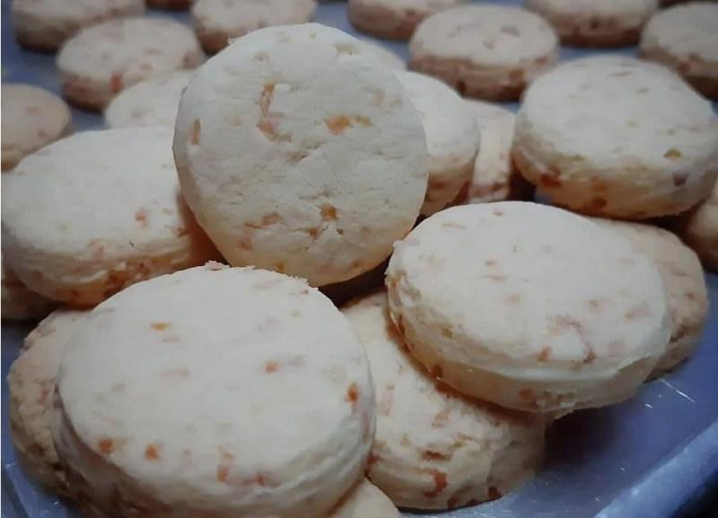 Resepi Biskut Bangkit Cheese Rangup & Cair Di Mulut