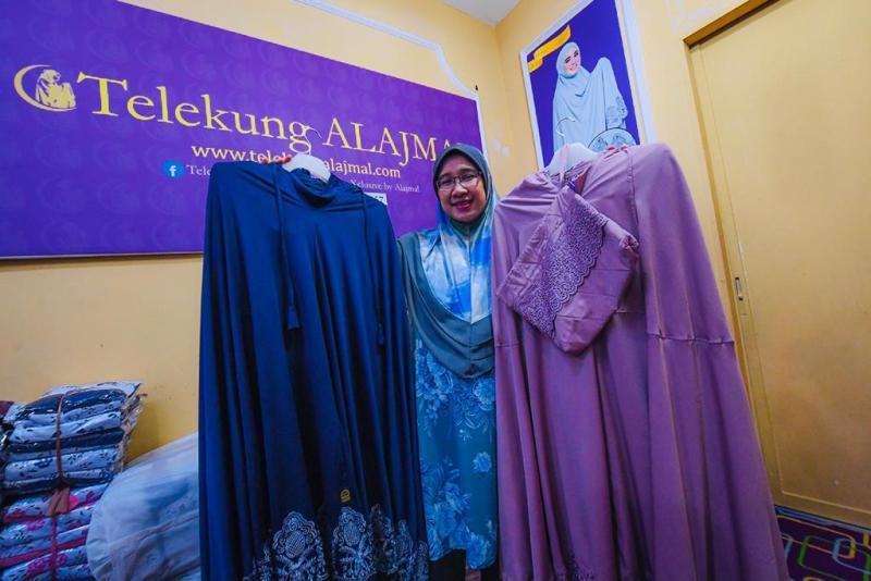 Telekung Alajmal pilihan wanita beribadat