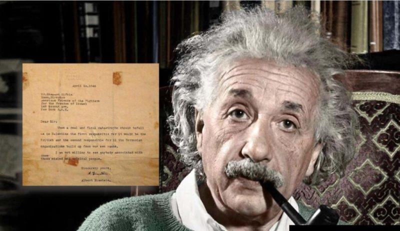 Surat Albert Einstein Kepada Zionis Setelah Kejadian Pembunuhan Orang Arab Di Deir Yassin