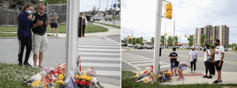 Setelah Keluarga Islam Sengaja Dilanggar Pemandu Pikap di Kanada