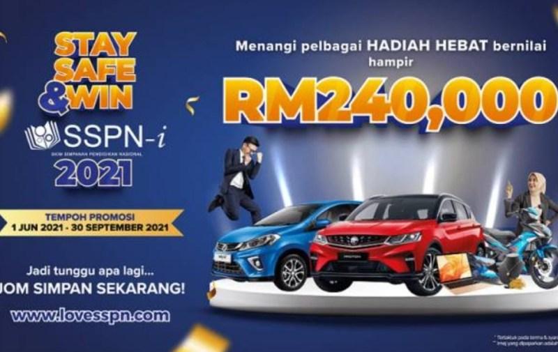 SSPN-i tawar hadiah RM240000