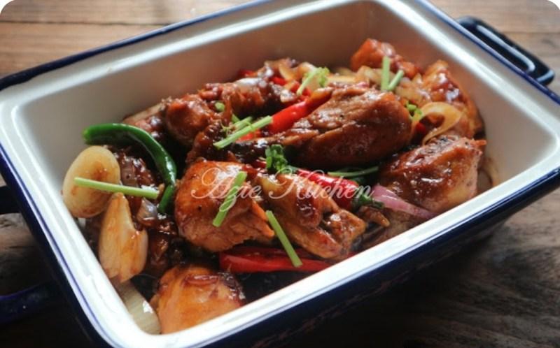 Resepi Ayam Goreng Masak Halia