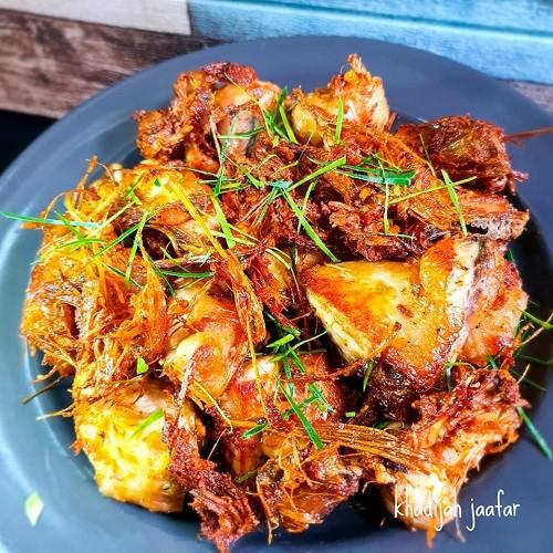 Resepi Ayam Goreng Serai ala Thai
