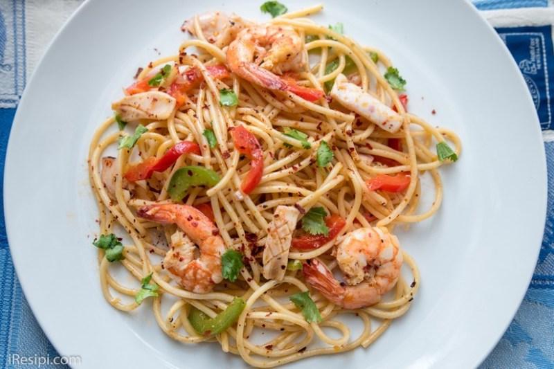 Resepi Spaghetti Aglio Olio