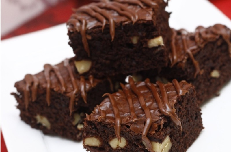 Resepi fudgy brownies simple dan sedap