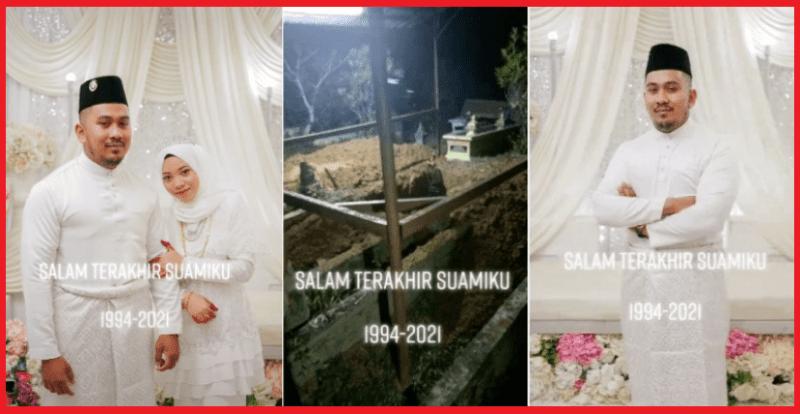 [VIDEO] Hanya 11 Hari Melayari Alam Rumahtangga, Suami Pergi Tak Kembali Akibat Serangan Jantung