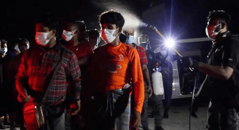 Migran disembur Dettol, aktivis ingatkan cara layanan pada rakyat Palestin