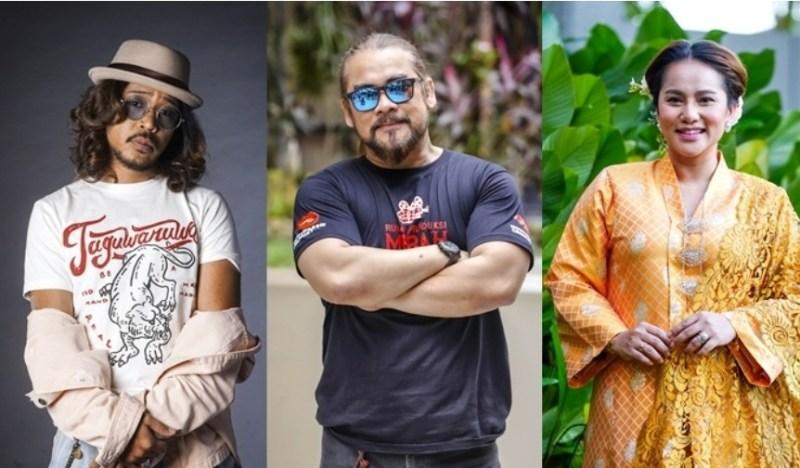 Kisah 'lockdown' Awie, Hazama, Elly Mazlein