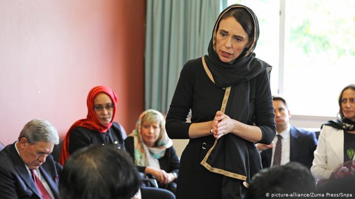 Ardern kritik filem dirinya tangani serangan kejam Christchurch