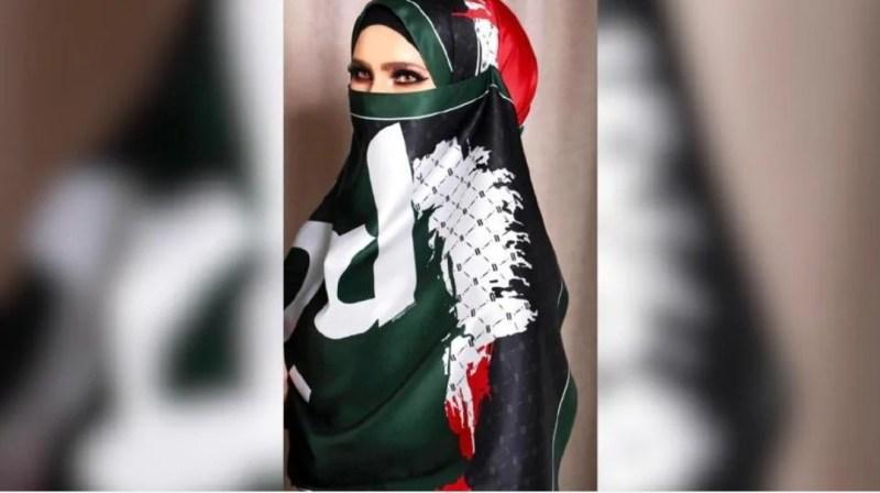 Selebriti jual tudung bantu rakyat Palestin
