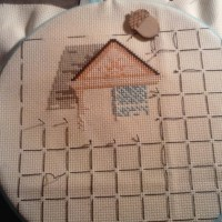 Cross Stitch Organization (and a FO!)