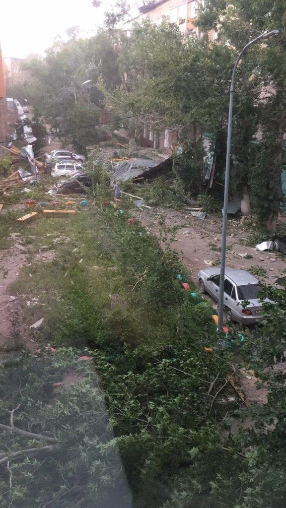 Ураган в Караганде