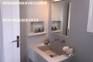 D Angelo villa sea view - rent villa mykonos services 192