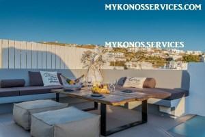 Villa D Angelo Sunset Penthouse by the wind mills - mykonos services - rent villa mykonos 111