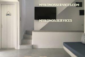 Villa D Angelo Sunset Penthouse by the wind mills - mykonos services - rent villa mykonos 3