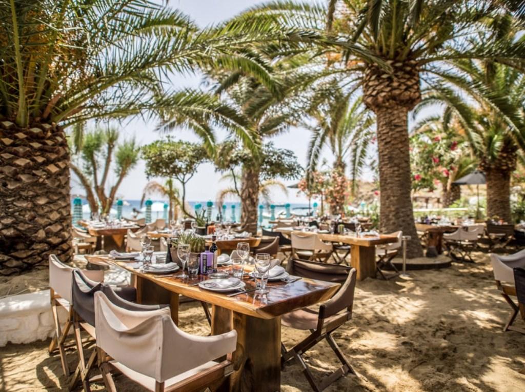 Nammos Mykonos restaurant - mykonos services bookings