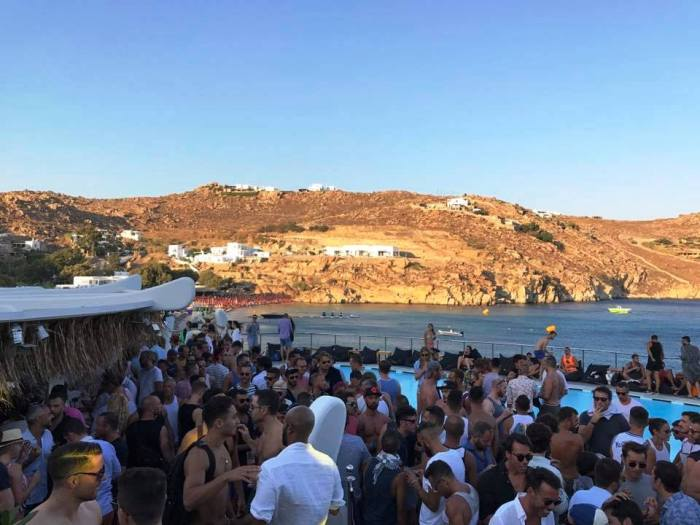 Mykonos Gay Beach Super Paradise