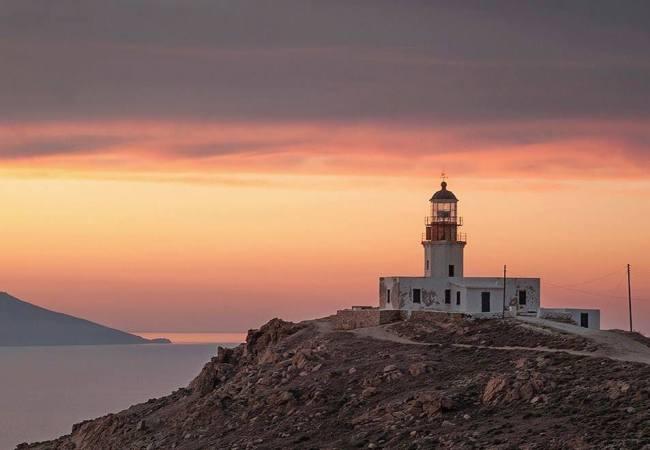 Mykonos lighthouse armenistis