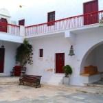 Panagia Tourliani Monastery, in Ano Mera, Mykonos island