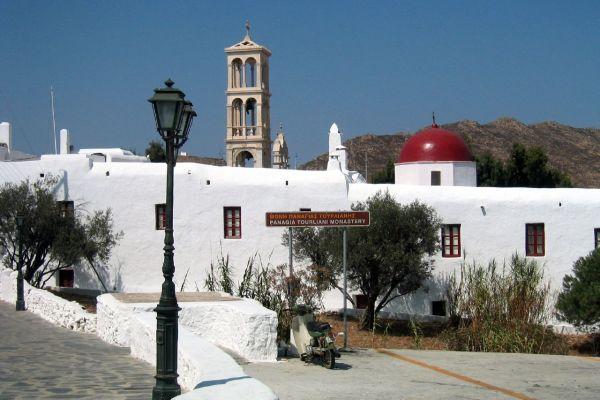 Ano Mera monastery in Mykonos island, Greece - Mykonos Traveller