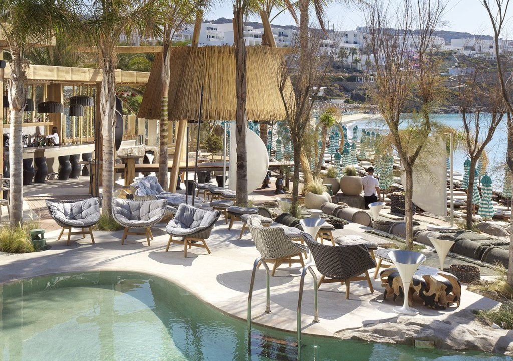 Kensho Psarou. Mykonos - Luxury Boutique Hotel in Psarou Beach