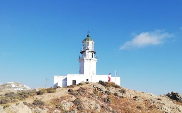Faros Armenistis Lighthouse Mykonos island in Greece - Mykonos Traveller