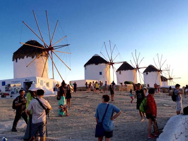 Mykonos Windmills - Kato Mili, Greece - Mykonos Traveller